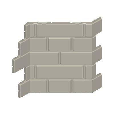 30217013_sparepart/WALL FILLER  BRICK  ANGELED ENDS GREY