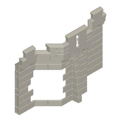 30217153_sparepart/CASTLE WALLS  SINGLE HEIGHT OPEN SECTION