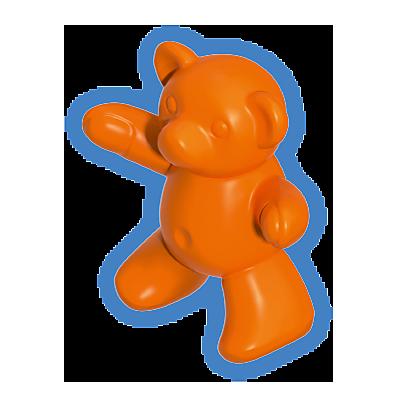 30217390_sparepart/TEDDY BEAR:ORANGE 123