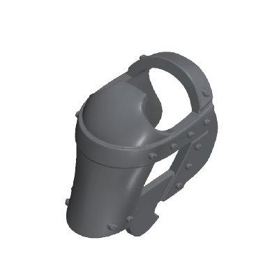 30217982_sparepart/ARMOUR FOR HORSE HEAD DARK METAL