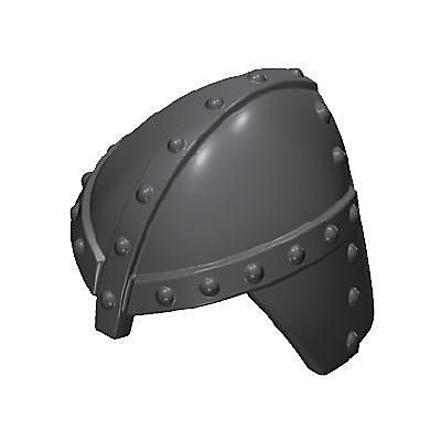30218402_sparepart/Casque de chevalier noir