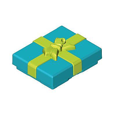 30218533_sparepart/GIFT BOX, TOP BLUE/GREEN