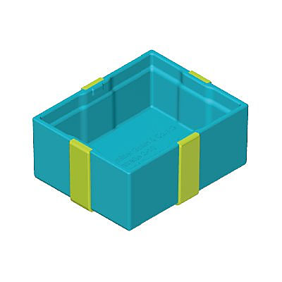 30218543_sparepart/GIFT BOX, BOTTOM BLUE/GREEN