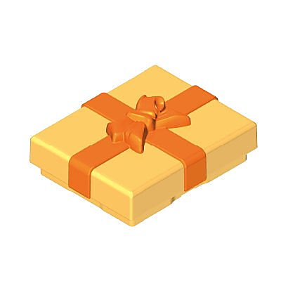 30218553_sparepart/GIFT BOX  TOP YELLOW/ORANGE
