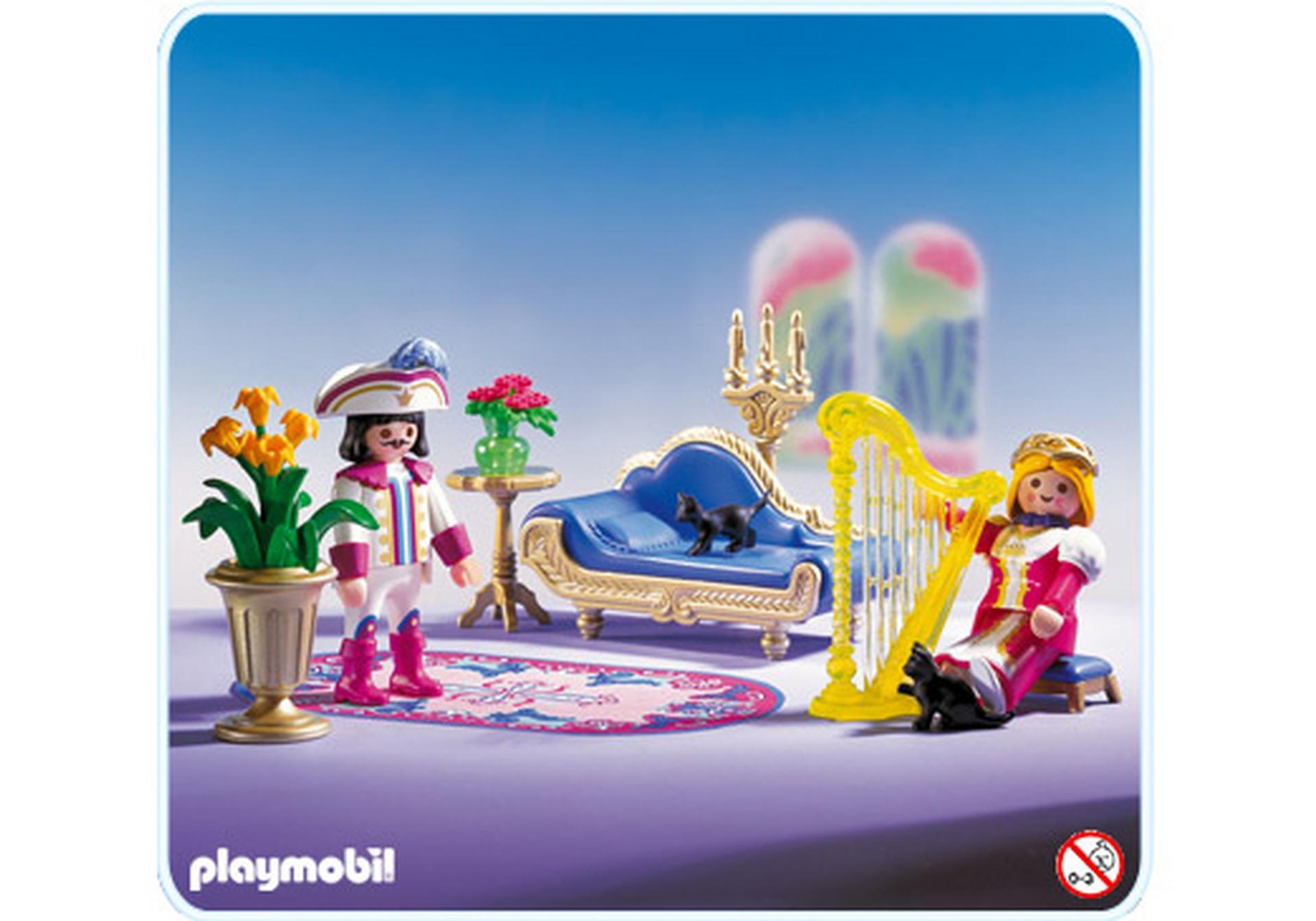 Salon royal 3022 a playmobil france for Salon playmobil