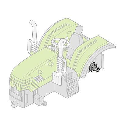 30223812_sparepart/Achse-Traktor hinten