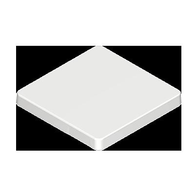 30224842_sparepart/Dessus de table carré blanche