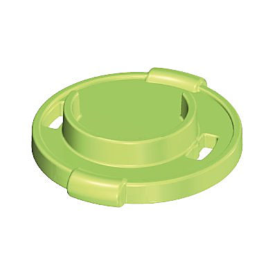 30234632_sparepart/PLATE FOR CAKE  WITH HANDLES GREEN
