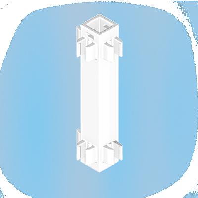 30241322_sparepart/Poteau blanc avec clips