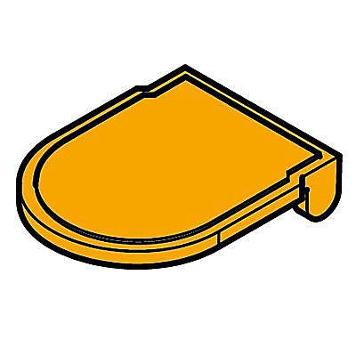 30242232_sparepart/Lunette de toilette orange