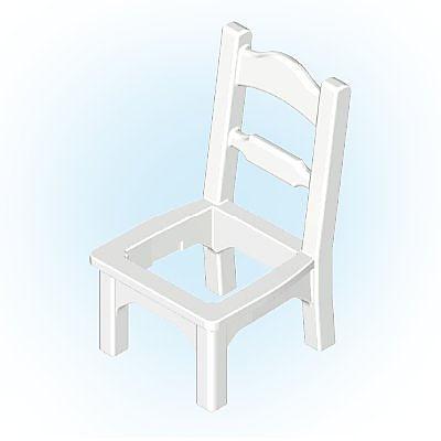 30248960_sparepart/Chaise blanche