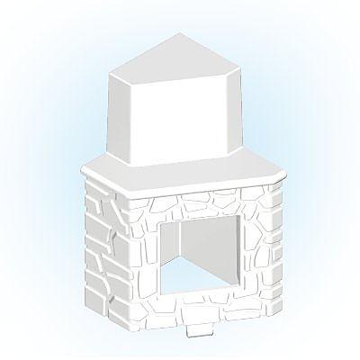 30251043_sparepart/Cheminée mur blanc