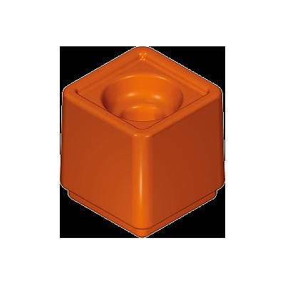 30251300_sparepart/pot de fleurs orange / marron