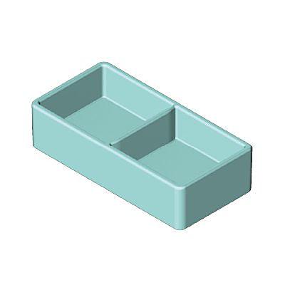 30251473_sparepart/Intérieur bac à glaces bleu