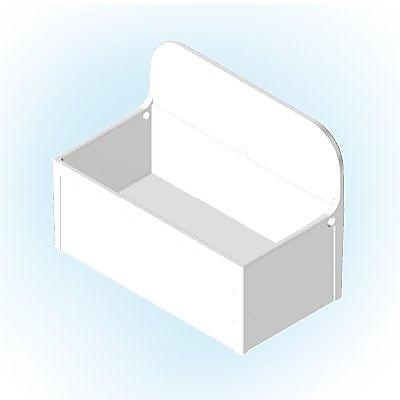 30251483_sparepart/Congélateur blanc