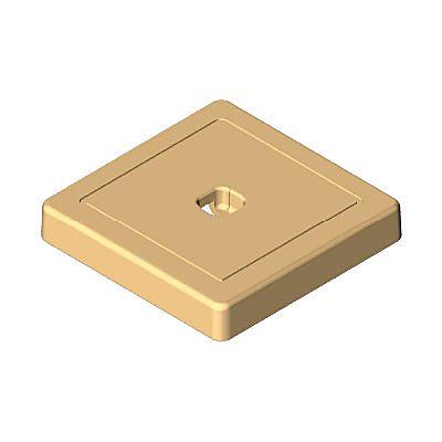 30251523_sparepart/Plaque carré beige