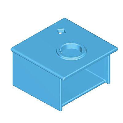 30251753_sparepart/Meuble bleu pour vasque