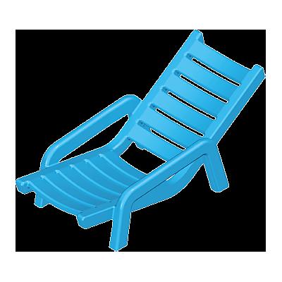 30252622_sparepart/Chaise longue bleue II