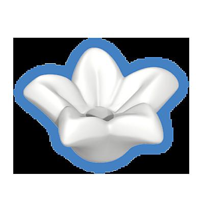 30252810_sparepart/fleur avec pétales blanches