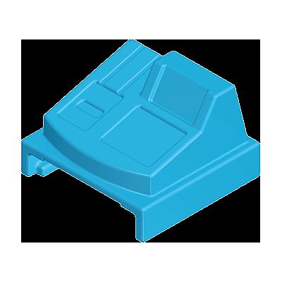 30254753_sparepart/Caisse enregistreuse jouet bleue