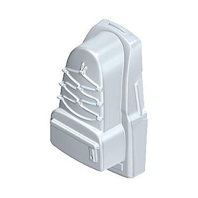 30256172_sparepart/Partie arrière de sac à dos gris