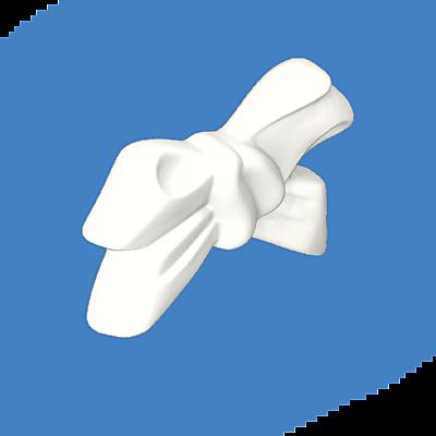 30258340_sparepart/BOW FOR SKIRT - WHITE