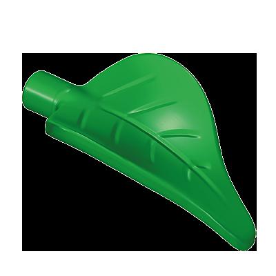 30259352_sparepart/Feuille verte de la plante avec fleur ro