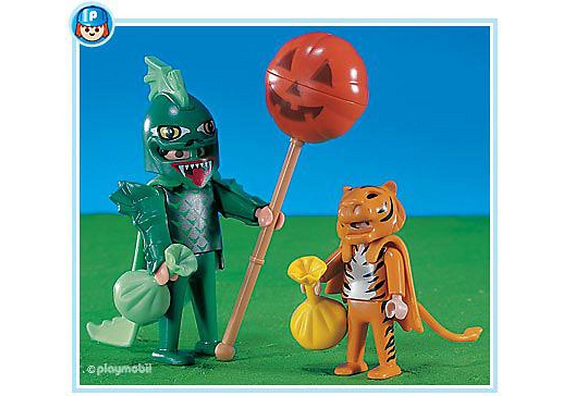 3026-A Chauve souris et tigre d'Halloween zoom image1