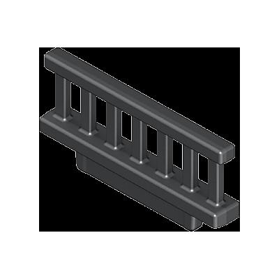 30261990_sparepart/RAILING - BLACK METAL