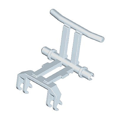 30268440_sparepart/WHEELCHAIR FRAME GREY