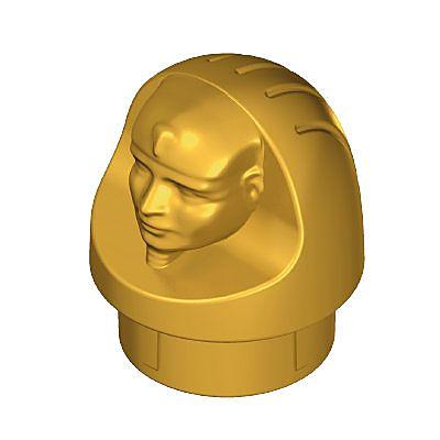 30292440_sparepart/CANOPIC JAR TOP PART HUMAN GOLD