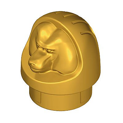 30292450_sparepart/CANOPIC JAR TOP PART MONKEY GOLD