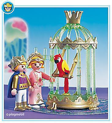 3032-A Enfants du roi/ perroquet detail image 1