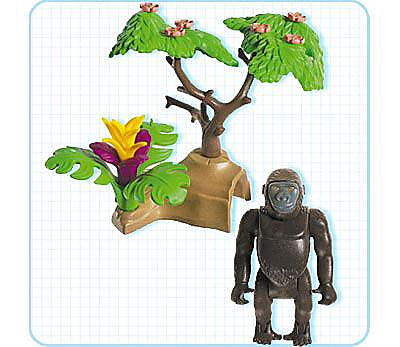 3039-A Gorilla detail image 2