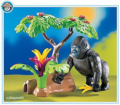 3039-A Gorilla detail image 1