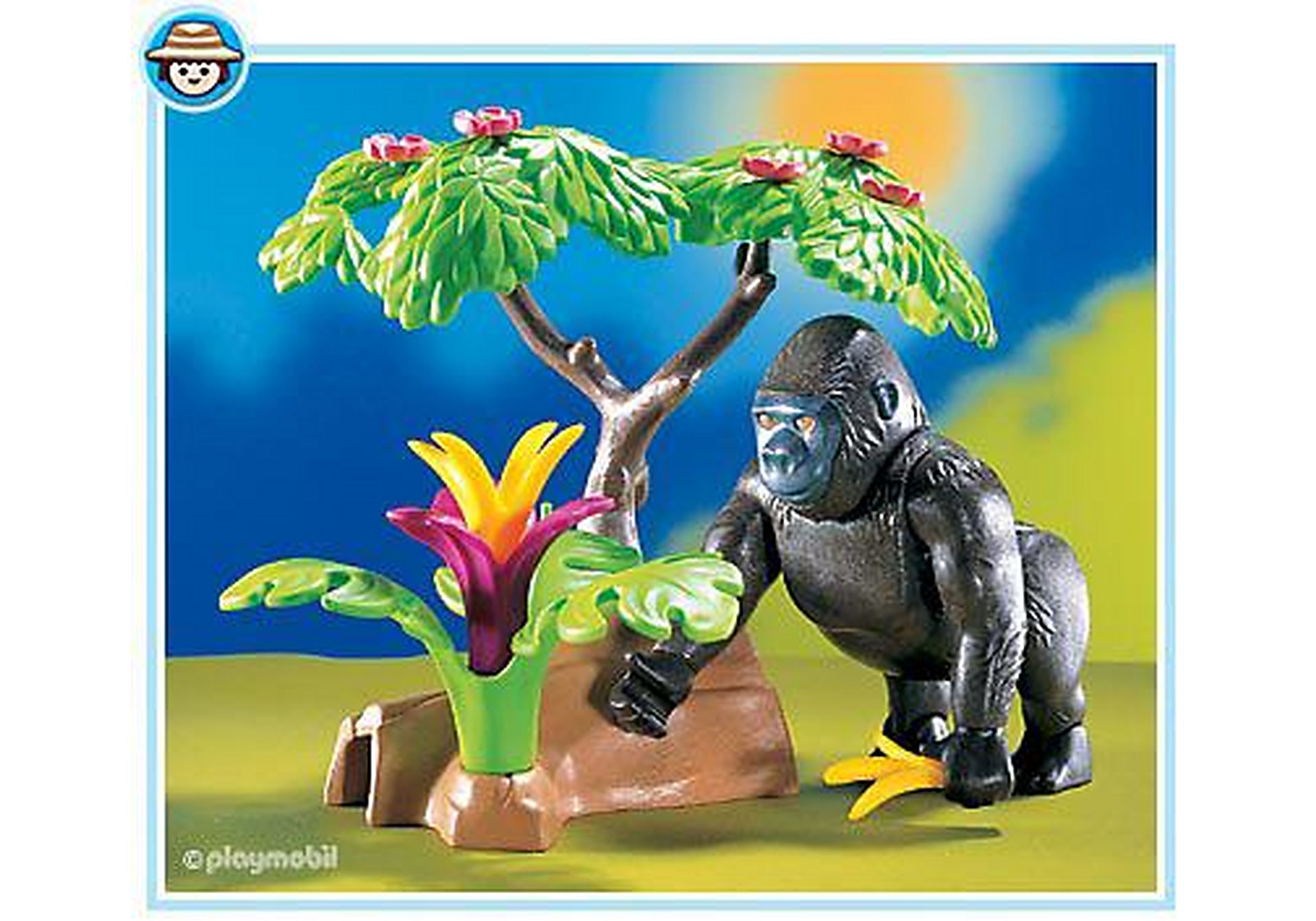 3039-A Gorilla zoom image1