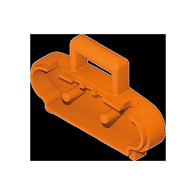 30464190_sparepart/Elément radio-cassette orange