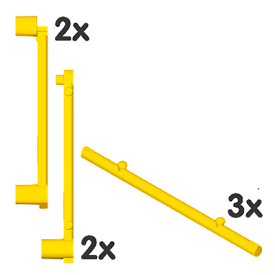 30511972_sparepart/Barres jaunes pour toile de tente (7)