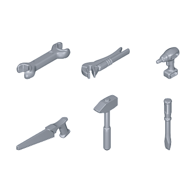 30512352_sparepart/6 petits outils