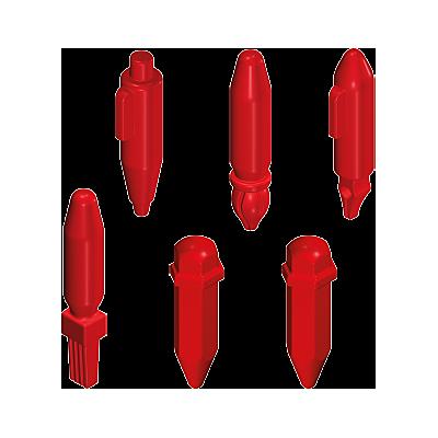 30516340_sparepart/Assortiment de crayons rouges