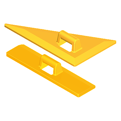 30519390_sparepart/RULER/TRIANGLE YELLOW