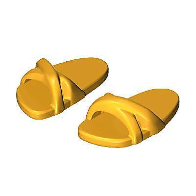 30600572_sparepart/Sandales jaunes femme