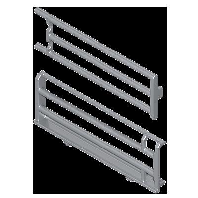 30601102_sparepart/Clôtures grises avec barres (2)
