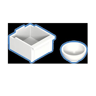 30602572_sparepart/Vasque blanc plus tiroir