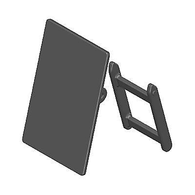 30611660_sparepart/CHALKBOARD AND STAND BLACK