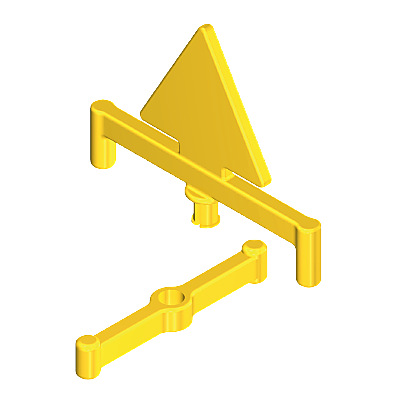 30611810_sparepart/stand:wrn.triangle yellow II