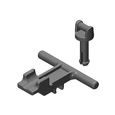 30611980_sparepart/HOSE NOZZLE AND STAND (2 PC) GREY