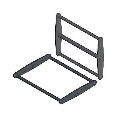 30612290_sparepart/LEGS FOR FOLDING TABLE BLACK