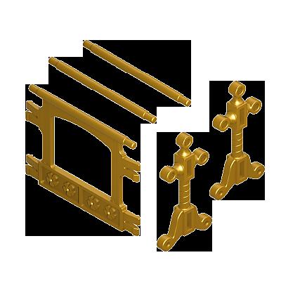 30613510_sparepart/HANGER/RAIL: TOWEL, GOLD