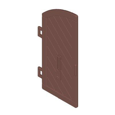 30629743_sparepart/DOOR FOR CASTLE  WOODEN  1/2 ARCH  (LEFT